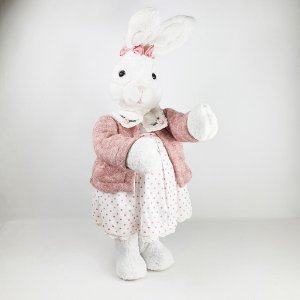 Coelha de Pelúcia - Rosa