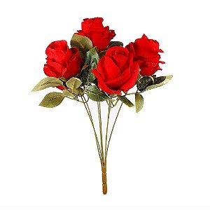 Buquê de Rosas - Vermelho