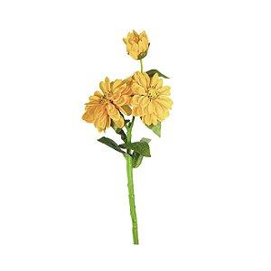 Haste de Dália - Amarela
