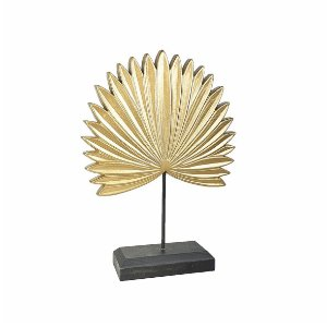 Escultura Decorativa - Dourada