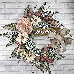 Guirlanda de Flores - Welcome