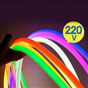 Rolo Fita Neon 7 Cores 100 Metros