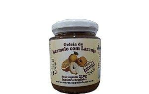 Geleia de Marmelo com Laranja Marmelópolis 210g