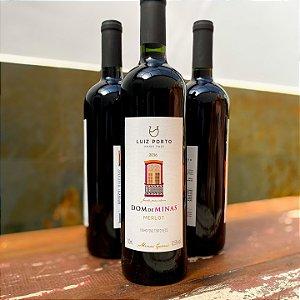 Vinho Dom de Minas Merlot 750ml