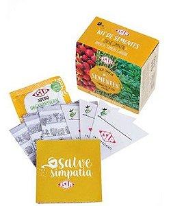 Kit de Sementes - Salve Simpatia (Pimenta, Tomilho e Arruda)