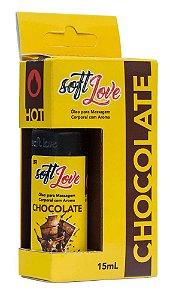 Óleo Corporal Comestível Hot - Chocolate