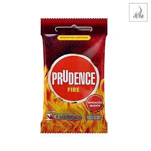 Preservativo Prudence Fire 3 unidades