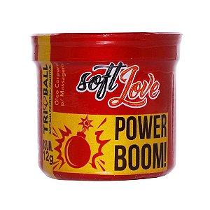 Bolinha Explosiva Soft Ball Funcional Comestível C/3 Power Boom