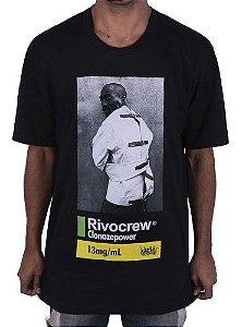 Camiseta Chronic Tupac Rivocrew Preta