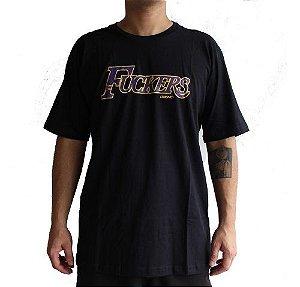 Camiseta Chronic Fuckers Preta