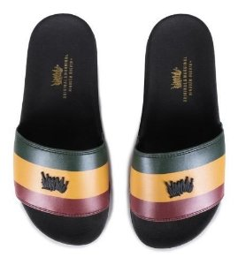Chinelo Slide Chronic Reggae Roots