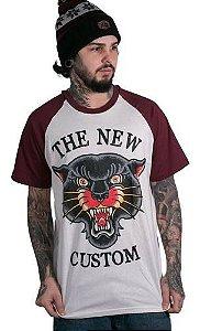 Camiseta Raglan The New Custom Old Panther