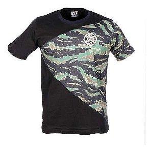 Camiseta Chronic Camu Triangular Preta