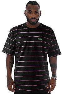 Camiseta Prison Listrada Pink Track