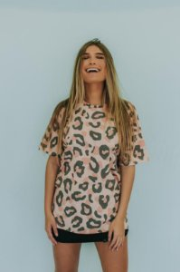 Camiseta Feminina Mohala Animal Print