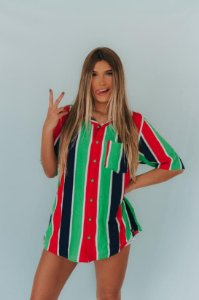 Camisa Feminina Mohala Listras