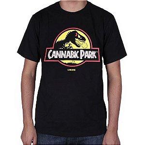 Camiseta Chronic Cannabic Park Preta