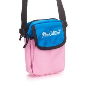 Mini Bag Other Culture Classic Brand Blue Pink & Neon Black