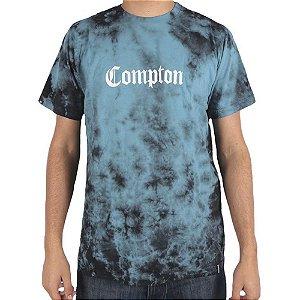Camiseta Chronic Tie Dye Azul Compton