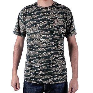 Camiseta Chronic Versatil Camuflada Cuerda Salvia