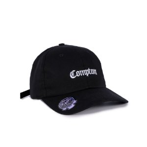 Bone Chronic Dad Hat Compton Preto