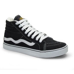 Tenis Mad Rats Hi Top Preto
