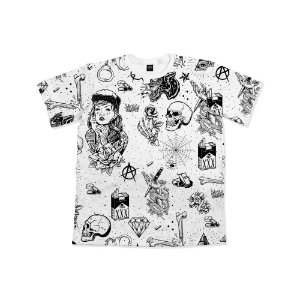 Camiseta Chronic Tattoo Icons