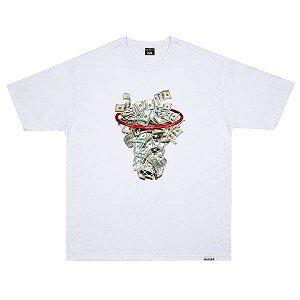 Camiseta Wanted Dollar Basket Branca