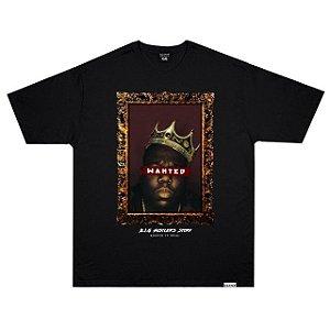 Camiseta Wanted B.I.G Preta