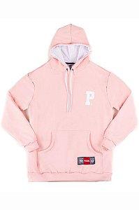Blusa Moletom Prison Premium P Rosa