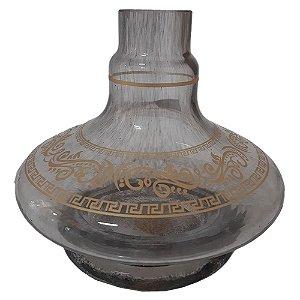 VASO ALADIN PEQUENO GREGA ONIX - SHISHA GLASS