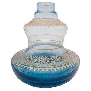 VASO PEQUENO STYLE  AQUAMARINE - SHISHA GLASS