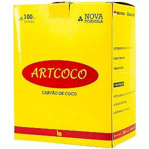 CARVÃO DE NARGUILE 1KG - ART COCO