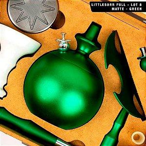 NARGUILE LITTLE SORR FULL LOTE 8 GREEN MATTE - SORRILHA