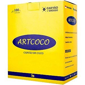 CARVÃO DE NARGUILE GROSSO 1KG - ART COCO