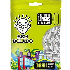 FILTRO CLÁSSICO LONGOS SLIM 6MM - BEM BOLADO