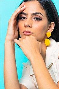 Brinco Chloe Amarelo