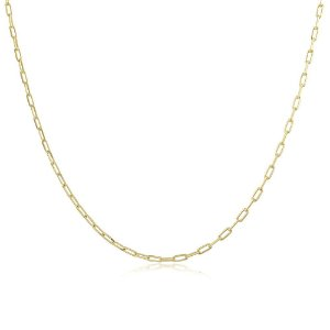 Colar Corrente Cartier 45cm Dourado