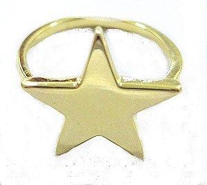 Anel Ivete Estrela Dourado