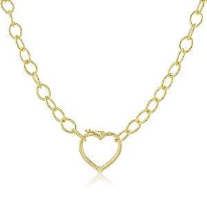 Colar Adélia Coração Dourado