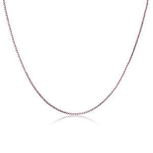 Colar Verônica 1mm Pink