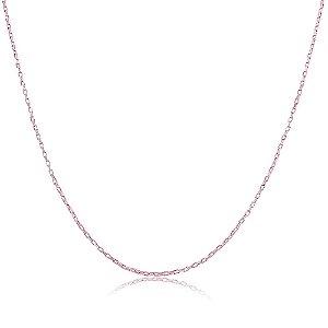 Colar Verônica 2mm Pink