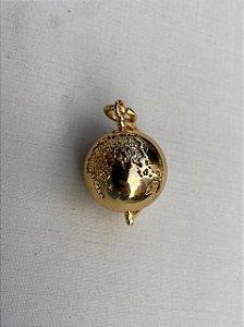 Pingente Globo Dourado