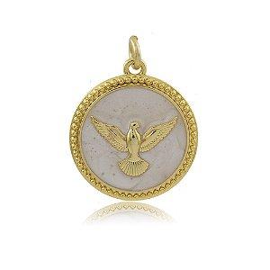 Pingente Espírito Santo Dourado