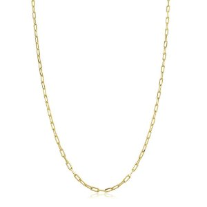 Colar Corrente Cartier 60cm Dourado