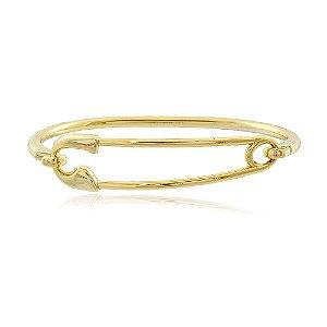 Bracelete Alfinete Dourado