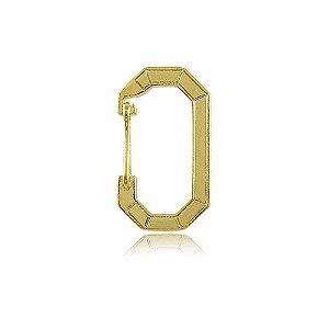 Pingente Mini Mosquetão Dourado