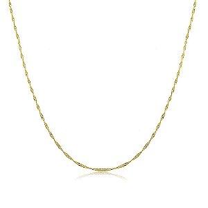 Colar Simone 60cm Dourado