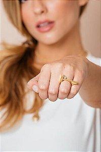 Anel Liana Dourado