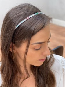 Tiara Riana Colorido Branco